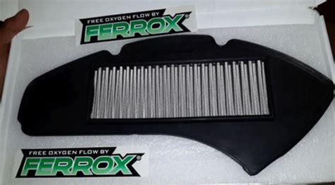 Filter Udara Ferrox Pcx 150 Vario 125 Vario 150 7 cara menambah kecepatan honda vario 125