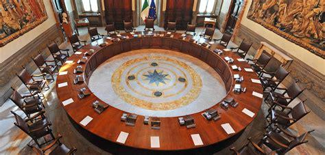 consiglio dei ministri file sala consiglio dei ministri palazzo chigi roma