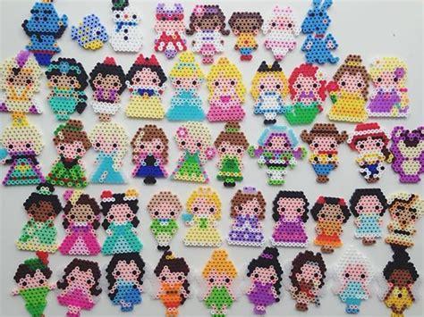 bead characters resultado de imagen de minnie tsum tsum perler perler