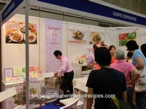 kewpie ntuc ganbarou nippon japanese trade show food fair at suntec