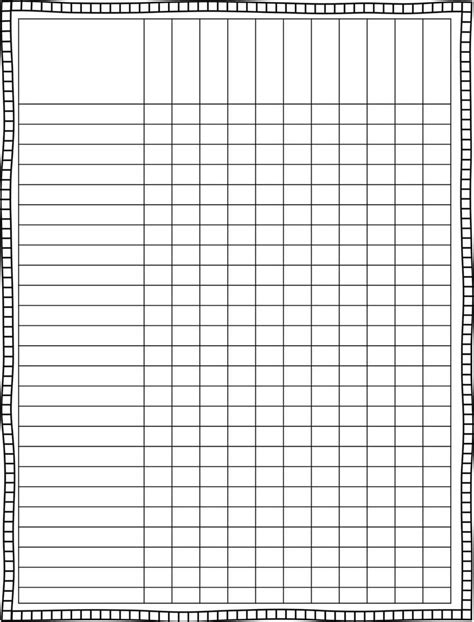 monthly checklist template blank weekly checklist template world of exle