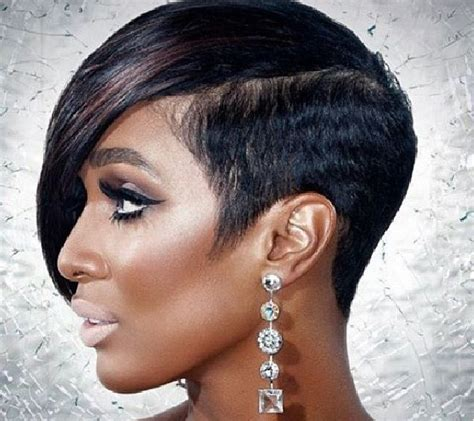 black women hairstyles short on one side and long on the other top 20 short hairstyles for black women hairstyles for