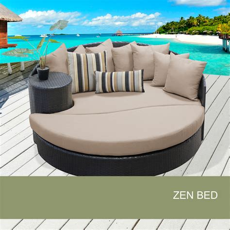 chaise ronde design outdoor patio bed zen outdoor furniture design furnishings