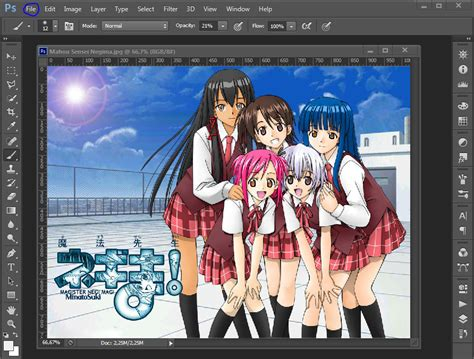 cara edit foto di adobe photoshop 7 0 cara edit foto bareng anime dengan photoshop software hacker