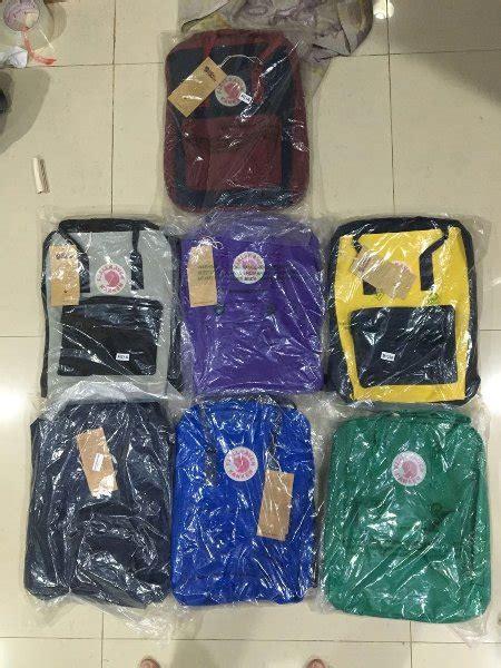 Tas Best Seller Promo Distro Original Ori Laptop Polos Keren Cowo Cewe jual fjallraven kanken classic backpack 2f grade ori best