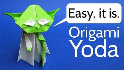 How To Make An Origami Yoda Easy - best 25 origami yoda ideas on origami yoda