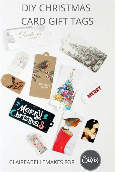 Card Gift Tags - christmas card gift tags daily inspiration from our bloggers