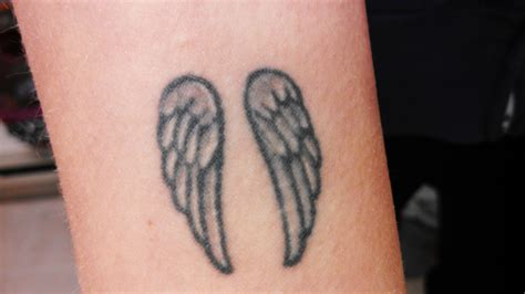 small wing tattoos small wing tattoos on wrist small wrist tattoos