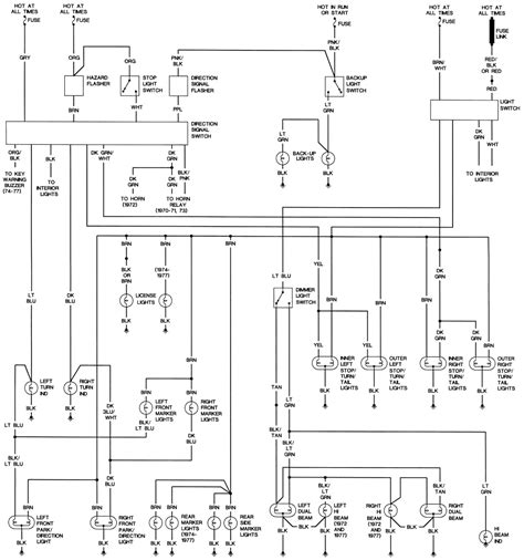 1973 Lemans Wiring Diagram Need It Hardcore Pontiacs