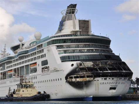Photos: Royal Caribbean Cruise Ship Fire   Business Insider