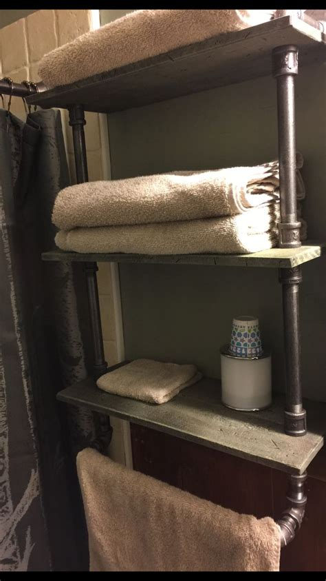 Bathroom Pipe Shelving 25 Best Ideas About Gas Pipe On Diy Pipe