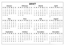 2017 blank calendar templates download free 2017