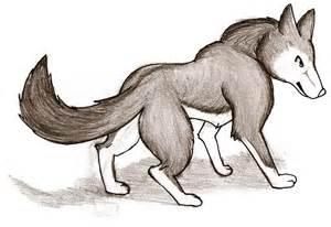 Le Loup Dessin Couleur L L