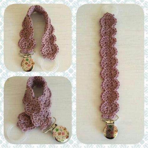 free crochet pattern pacifier holder crochet pacifier holder crochet clothing and accessories