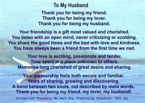 thankful letter to my husband my wonderful husband quotes quotesgram