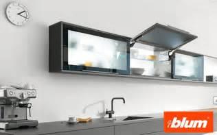 meuble haut cuisine cadre alu conception de