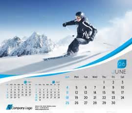 Desktop Calendar Template by 2017 Desk Calendar Template By La Croix Graphicriver