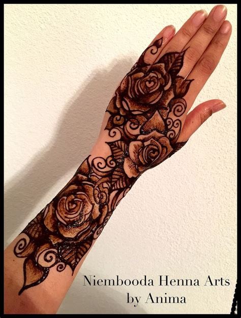 henna rose tattoo 409 best tattoos images on comment floral