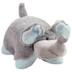 my pillow pets nutty elephant plush hub
