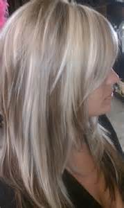 highlights for white hair on platinum white highlights with dark brown base by isaac