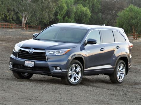 Toyota Highlander 2015 Reviews Review 2015 Toyota Highlander Hybrid Ny Daily News