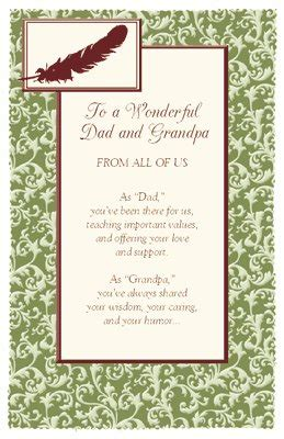 printable christmas cards for grandpa to a wonderful dad and grandpa greeting card father s