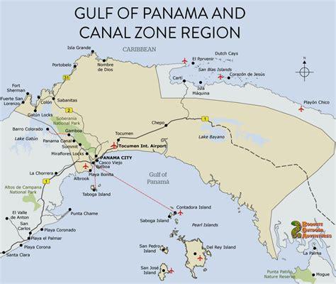 panama city panama map map panama canal zone panama gulf of panama map