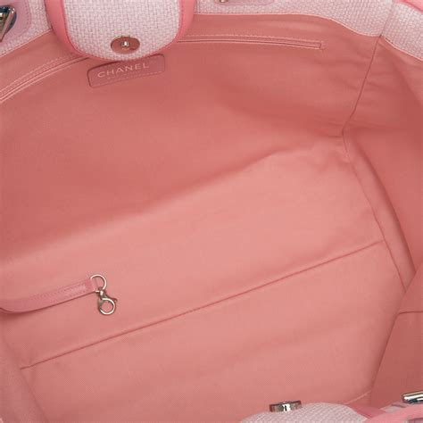 Chanel Deauville Shopping Tote Bags 972 chanel pink canvas large deauville shopping tote bag world s best