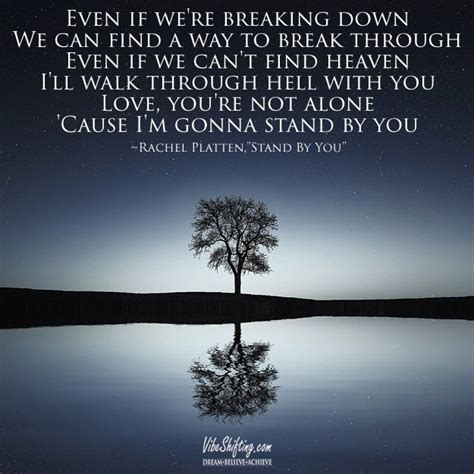 country music lyrics i will stand by you obsessed with rachel platten s song quot stand by you