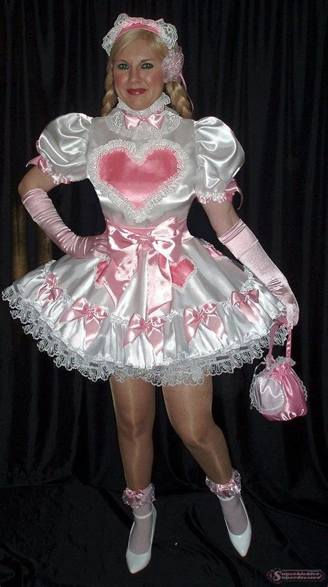 pinterest satin feminization skd superkleider superdresses sissy baby dresses