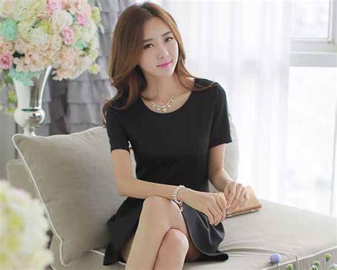 Dress Hitam Longdress Mini Dress Dress Wanita mini dress hitam model 2016 model terbaru jual