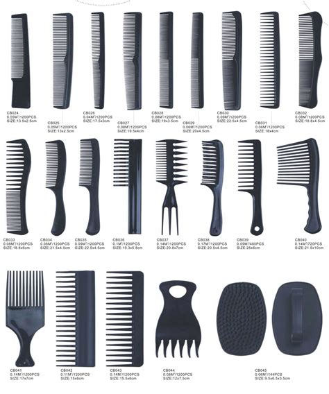 Types Of Hair Combs by China Plastic Comb China Plastic Comb Hair Brushes