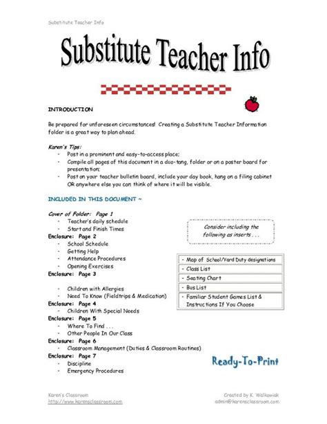 Substitute Resume Objective by Substitute Resume Resume Resume Template