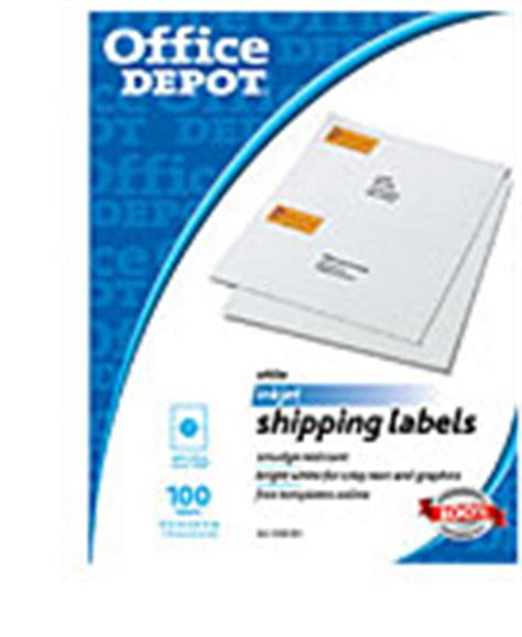 office depot label template office supplies furniture technology at office depot
