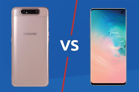 samsung galaxy a80 vs galaxy s10 trusted reviews