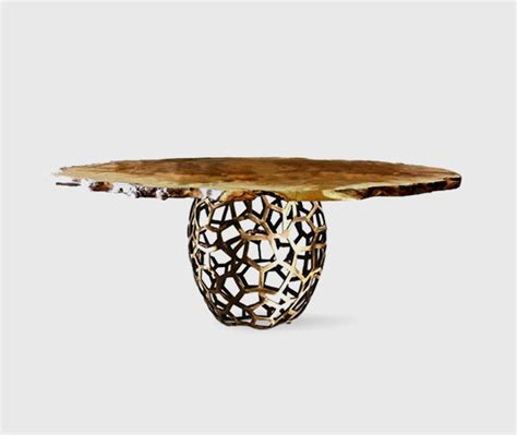 Eclectic Dining Tables Apis Dining Table Eclectic Dining Tables Other Metro By Brabbu