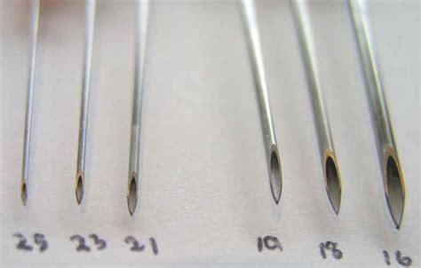 bamboo tattoo vs needle 25 guage needle fue hair transplant 16 gauge to 25 gauge