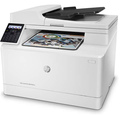 hp laserjet color printer hp color laserjet pro mfp m181fw a4 colour multifunction