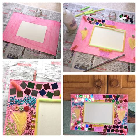 how to make a collage picture frame how to make collage picture frames for persil