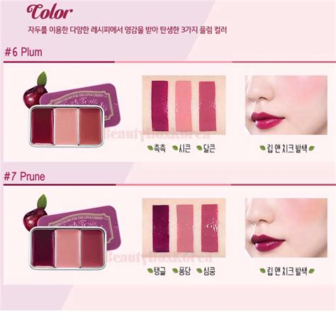 Skinfood Fruit Lip Cheek Trio box korea skinfood fresh fruit lip cheek trio