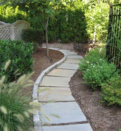 backyard walkway ideas inexpensive stone walkways and types gardens patio and