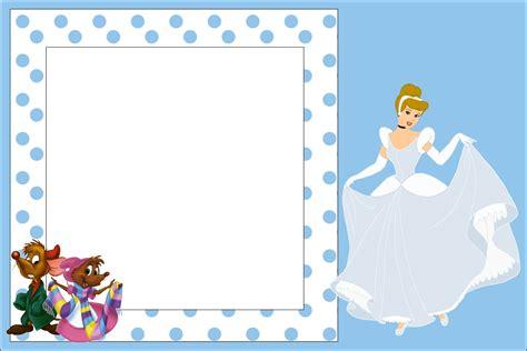 Cinderella Baby Shower by Free Printable Cinderella Baby Shower Invitation Idea