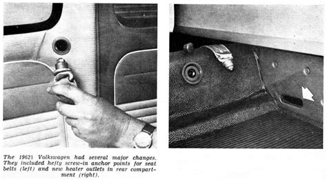 vw beetle seat belts australia 1960 1964 club veedub