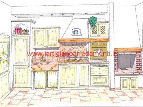 progetti cucine in muratura progetti cucine in muratura