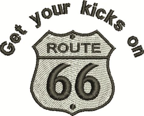 embroidery design route 66 favpro designs embroidery design route 66 sign 2 04