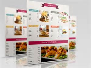 menu brochure template 50 free restaurant menu templates food flyers covers