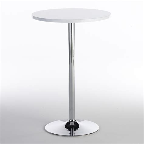 high top bar table gloss luxury rentals glossy hi top bar table
