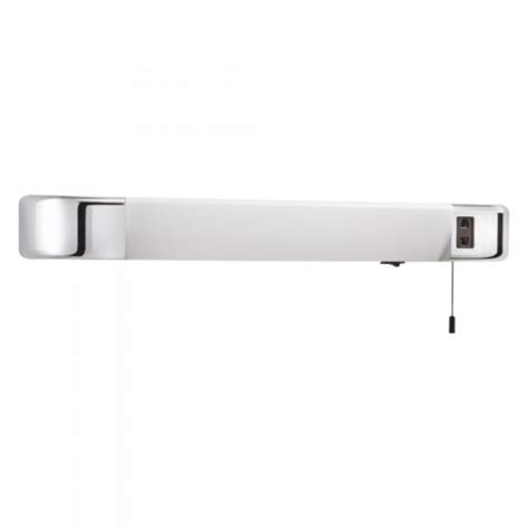 california ip44 wall light with opaque white shade