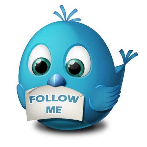 Follow Me by Follow Me Icon Birdies Iconset Arrioch