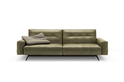50s couch rolf benz 50 leather sofa by rolf benz design norbert beck